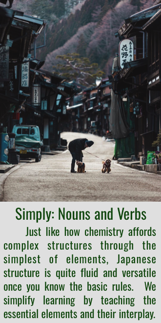 Simplify Grammar by Seeing all as Nouns and Verbs