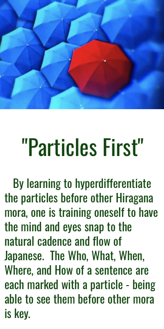 Particles First Approach